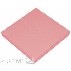Stiker 75x75mm 80L neon roze