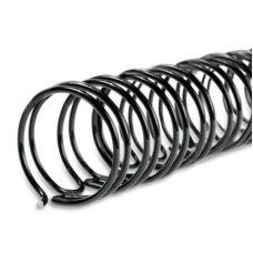 Spirala za metalno koričenje 14mm crna