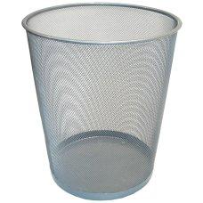 Korpa za smeće žičana srebrna