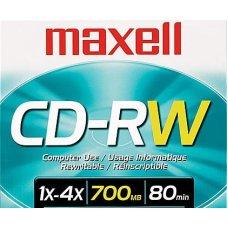 CD-RW 4x 700mb 1/1 Maxell
