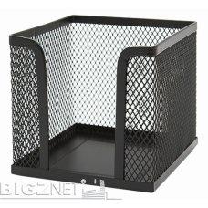 Blok kocka žičana 9*9*9cm crna