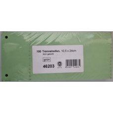 Pregradni karton skraćeni 240*100 zeleni 1/100