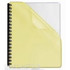 Folija za koričenje 150 mic žuta  1/100