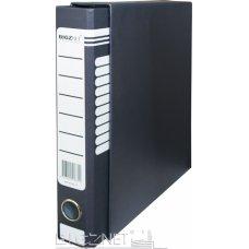 Registrator kartonski A4 sa kutijom uski teget BIGZ NET