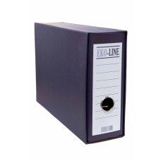 Registrator kartonski B5 sa kutijom teget