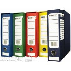 Registrator kartonski A4 sa kutijom crveni Bigz Net