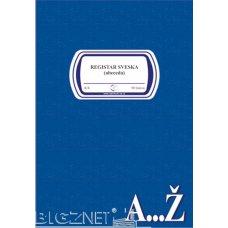Sveska registar A4 latinica