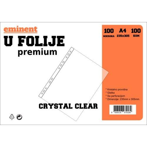 Folija U 100mic 1/100 crystal clear