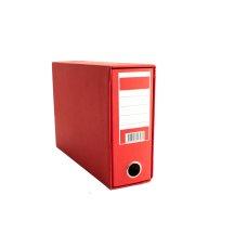 Registrator kartonski B5 sa kutijom crveni