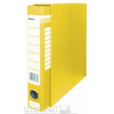 Registrator kartonski A4 sa kutijom uski žuti BIGZ NET