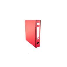 Registrator kartonski A4 sa kutijom uski crveni BIGZ NET
