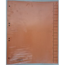 Pregradni kartoni 240*300 narandžasti 1/100