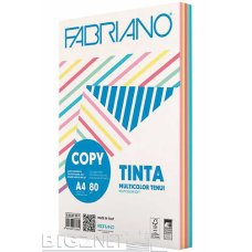 Papir u boji Fabriano A4 mix pastel