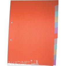 Pregradni karton u boji A4 1-12