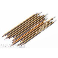 Grafitna olovka black pep's sa gumicom 2h