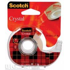 Lepljiva traka Scotch Crystal 600