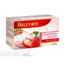 Čaj Milford jagoda-jogurt