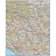 Zidna fizičko geografska karta 1070x1600