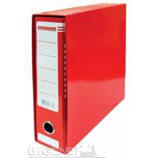 Registrator A4 Eminent plastificirani crveni