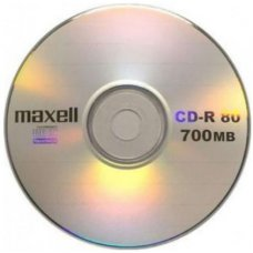 CD-R Maxell 52x 700mb printabilni 1/1