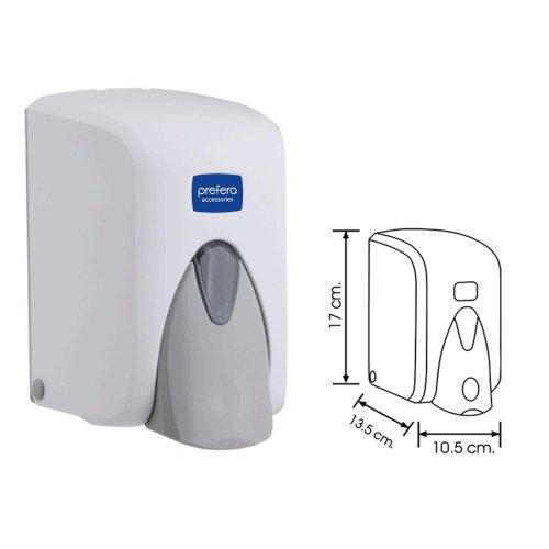 Dispenzer za sapun u peni F5 500ml beli Prefera