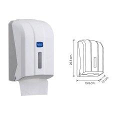 Dispenzer za toalet papir K6C beli Prefera