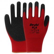 Rukavice zaštitne crveno/crne br.9 L