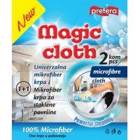 Mikrofiber krpa magična i za staklo mix 1+1