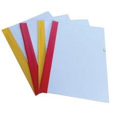 Fascikla PVC sa mehanizmom LUX žuta