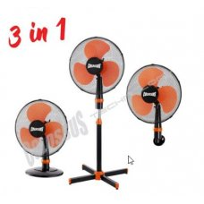 Ventilator 3u1, podni, stoni, zidni