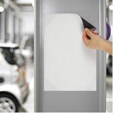 Magnetni otvoreni držač za papir A4