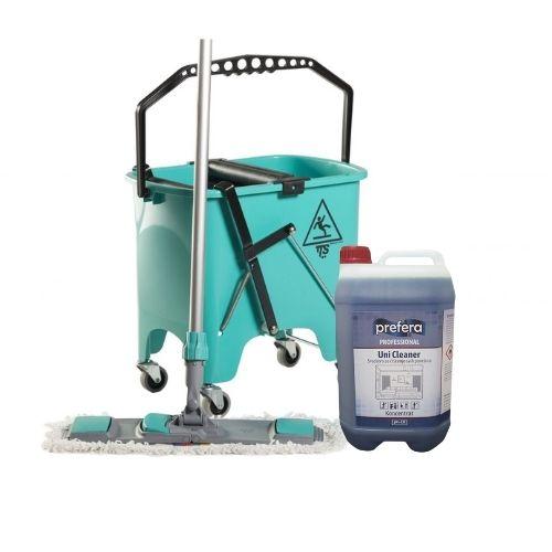 Set za čišćenje podova + Unicleaner 5l za 1 dinar!